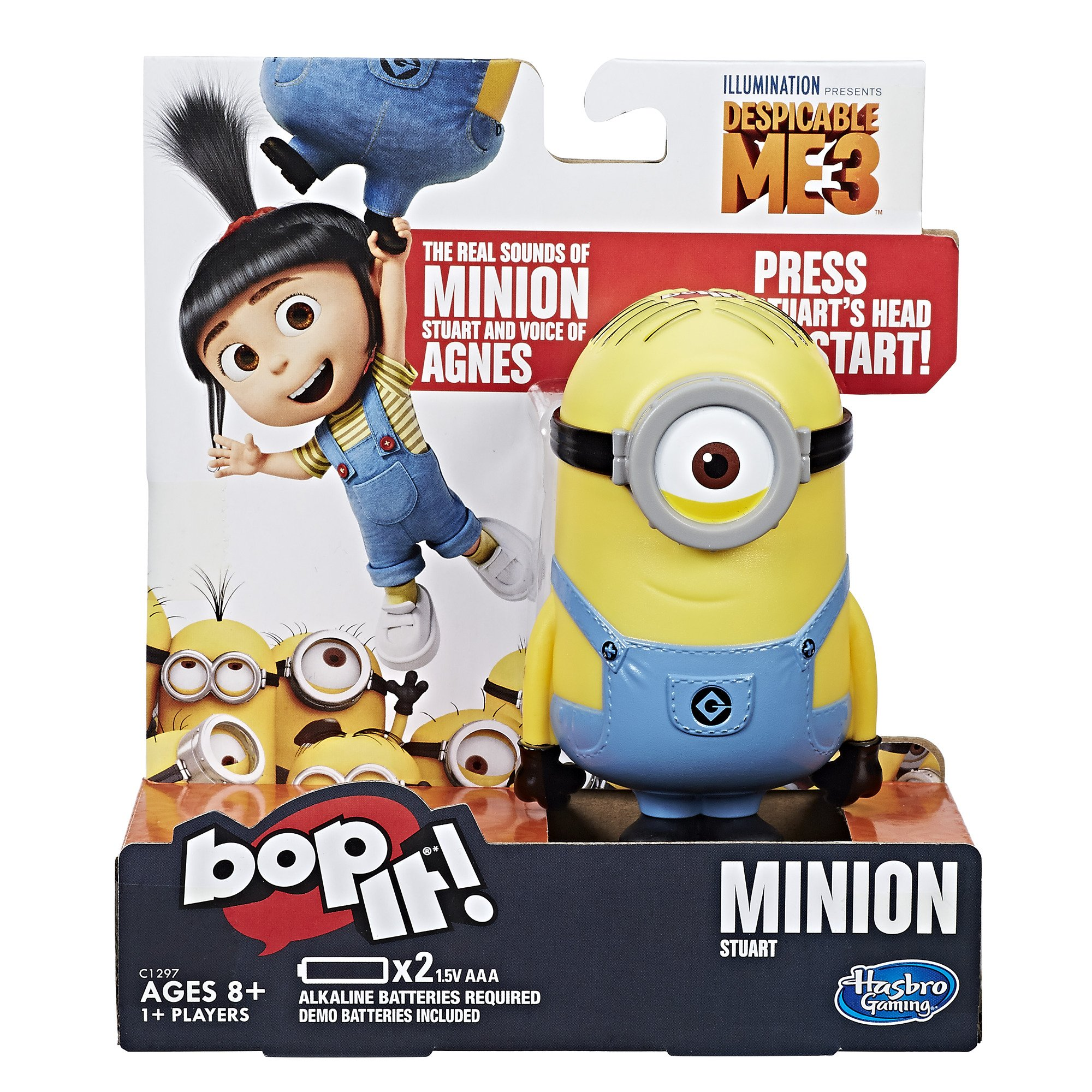 Bop It! Despicable Me Edition game by Hasbro Gaming
