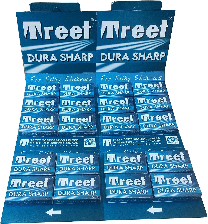 200 Cuchillas de afeitar Treet Dura Sharp