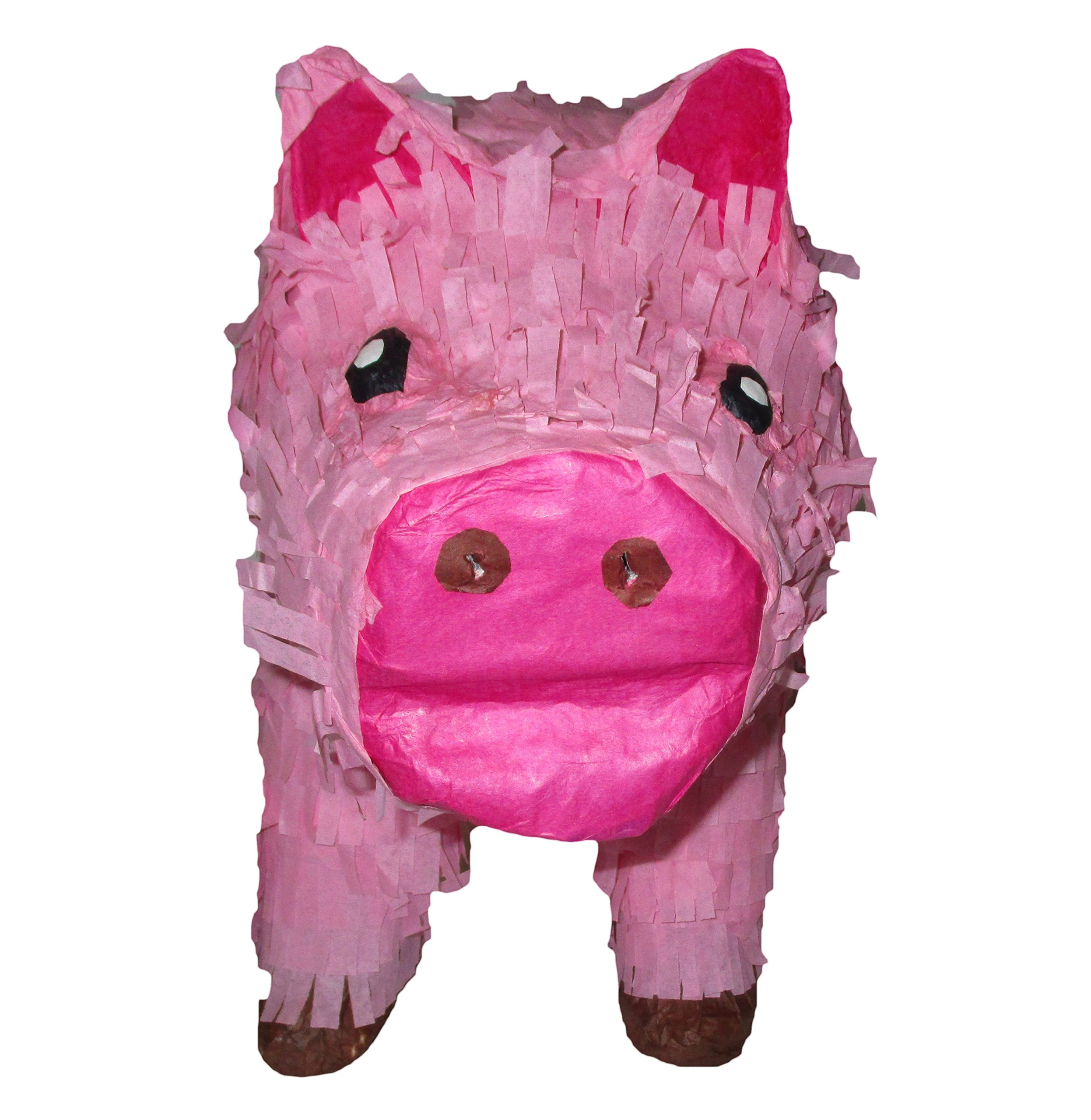 21'' Pink Pig Pinata Centerpiece and Game