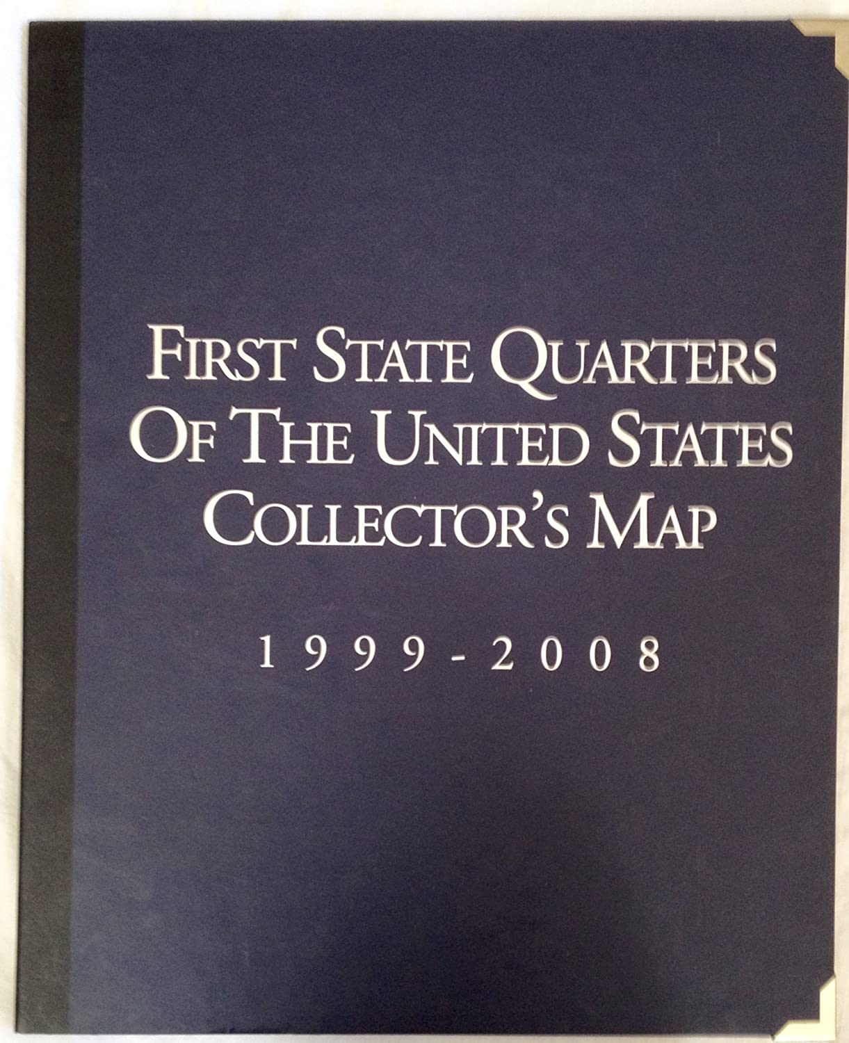 first state quarters of the united states collectors map worth Amazon.com: First State Quarters of the United States Collector's