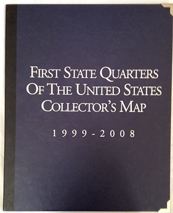 first state quarters of the united states collectors map Amazon.com: First State Quarters of the United States Collector's