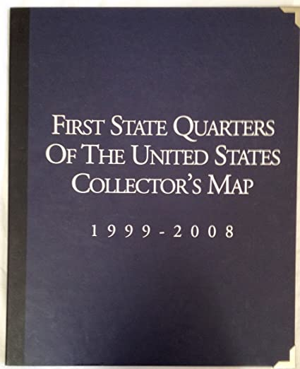 Amazon.com: First State Quarters of the United States Collector\'s ...