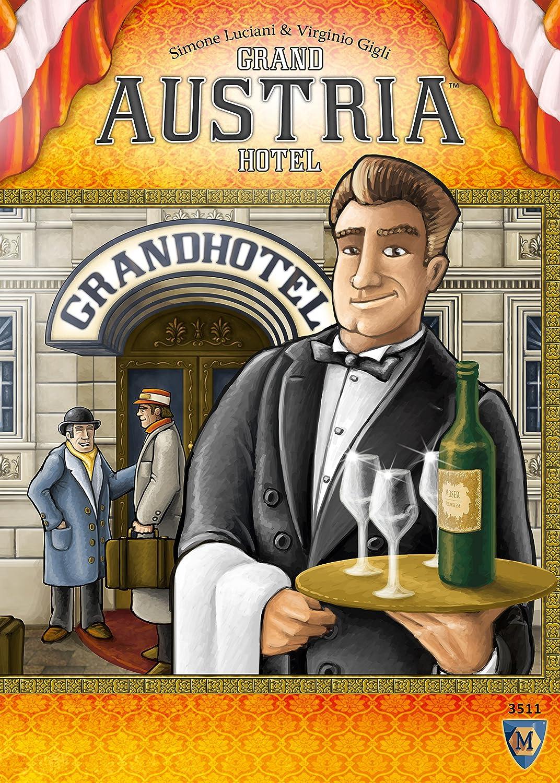 Mayfair Games Grand Austria Hotel Game: Amazon.es: Juguetes y juegos