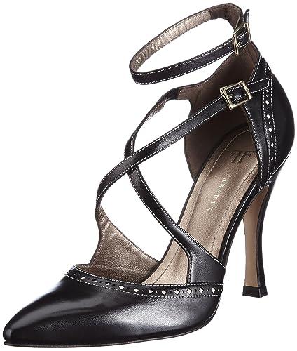 Womens Perla Court Shoes Black Size Farrutx Yry9AhX85