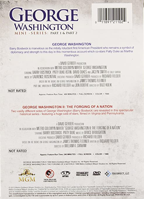 Amazon.com: George Washington Mini: Series Box Set: Barry Bostwick ...