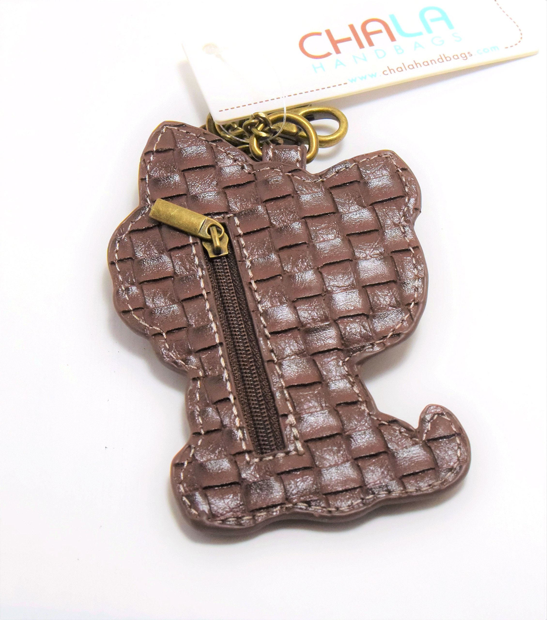 Chala Pal Bag Charm/ Key-Fob/ Coin Purse- Men's Best Friend Collection (Yorkie Terrier)