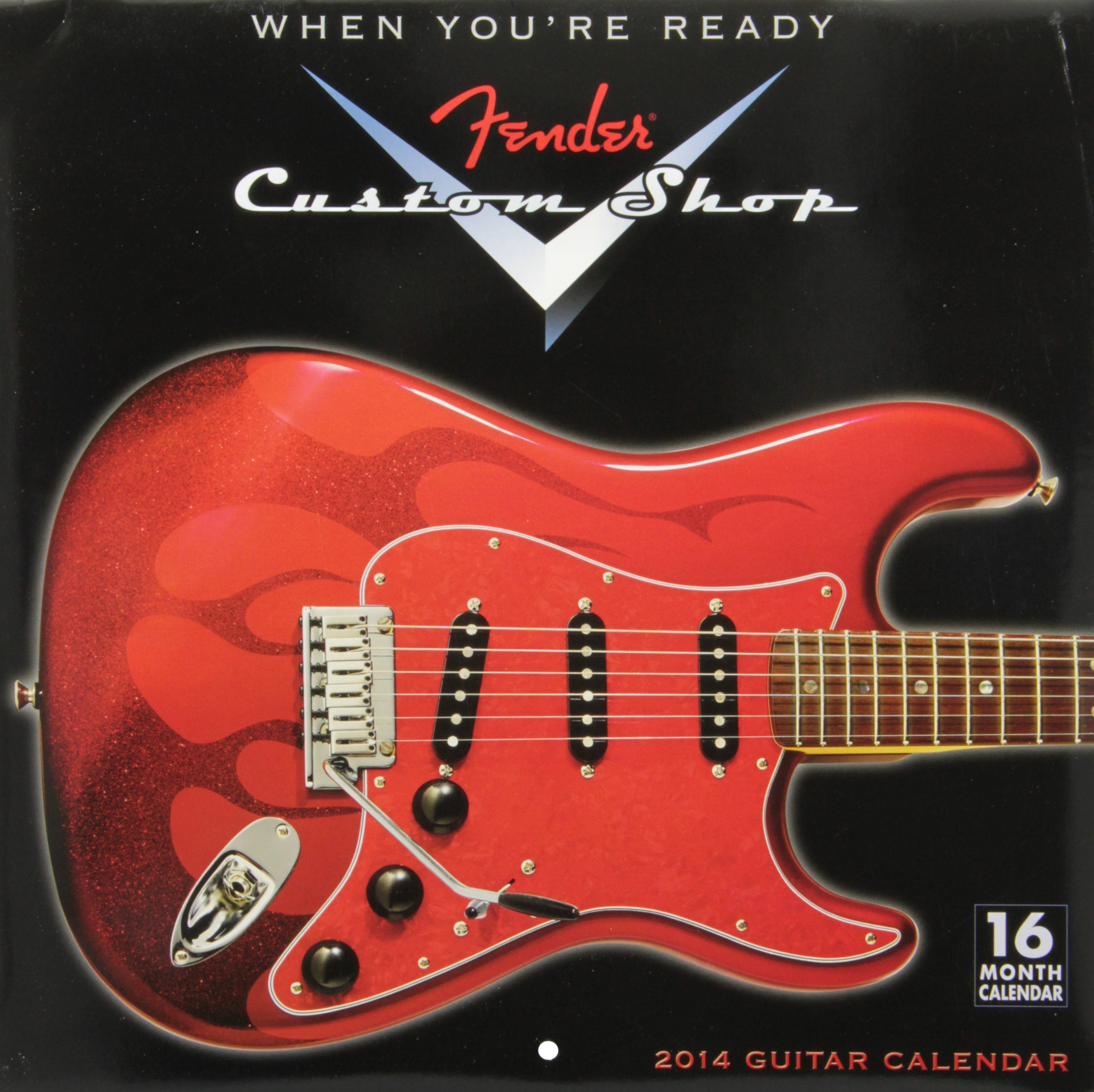 Fender® Custom Shop Guitar 2014 Wall (calendar) by Sellers Publishing, Inc.
