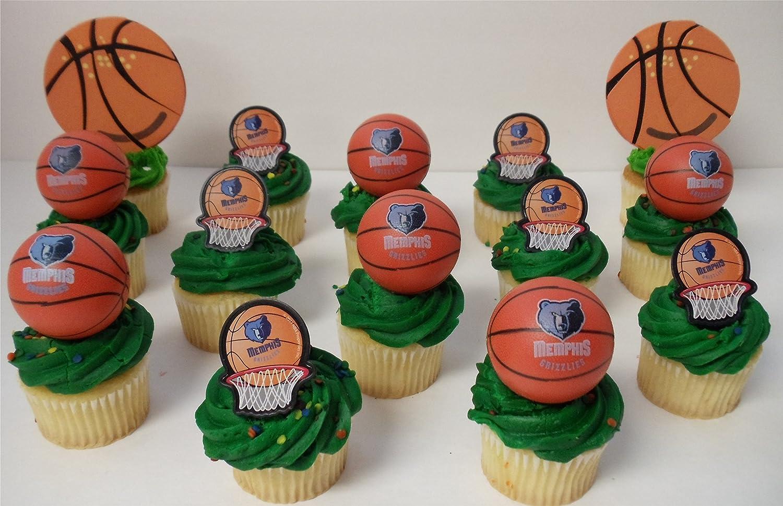 Amazon com: MEMPHIS GRIZZLIES 14 Piece NBA Basketball Birthday Party