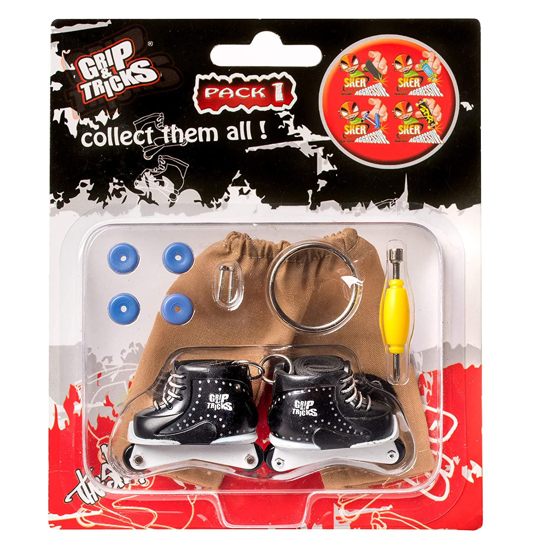 Grip Tricks Finger Roller Mini Inline Skates Freestyle Pack1