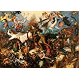 "Pieter Brueghel the Elder : ""The Fall of the Rebel Angels"" (1562) — Giclee Fine Art Print"