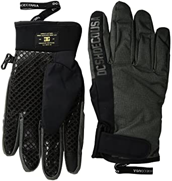 e9639df41c4d Amazon.com  DC Men s Deadeye Snow Gloves  Clothing
