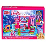 Fisher Price Mega Bloks Barbie Underwater Castle, Multi Color