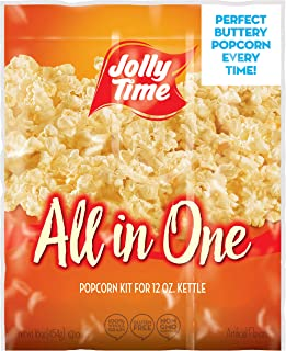 product image for JOLLY TIME All in One Kit for 12 oz. Popcorn Machine | Portion Packet with Kernels, Oil and Salt Commercial, Movie Theater or Air Popper (Net Wt. 16 oz. Each, Pack of 18)