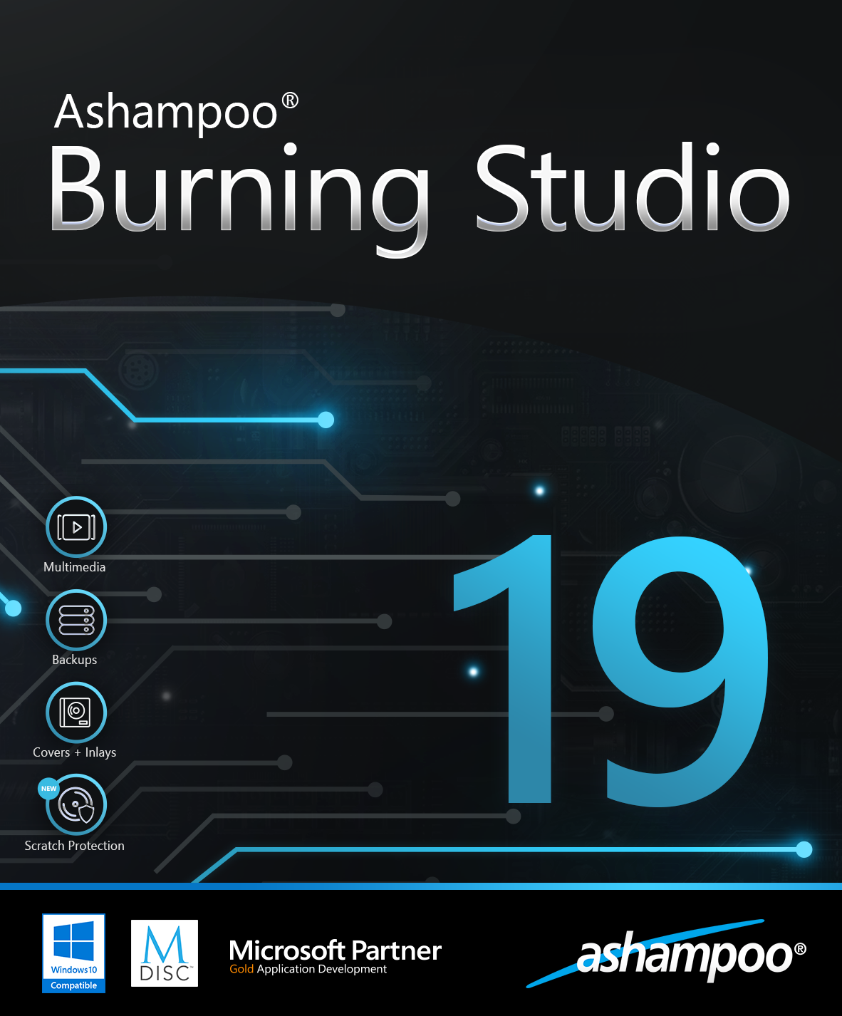 Ashampoo Burning Studio 19 [Download] (Multimedia Software)