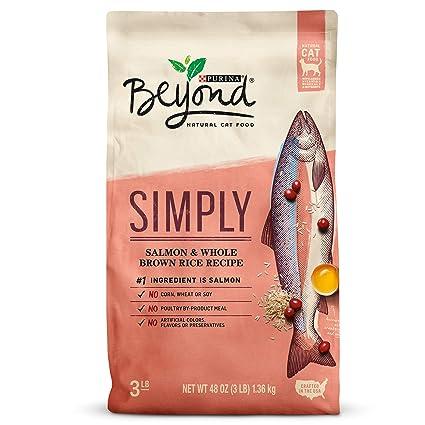 Purina Beyond Cat Food >> Amazon Com Purina Beyond Simply Natural Salmon Whole Brown Rice