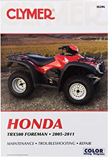 amazon com clymer m205 repair manual automotive rh amazon com honda 450 es repair manual honda foreman 450 es service manual