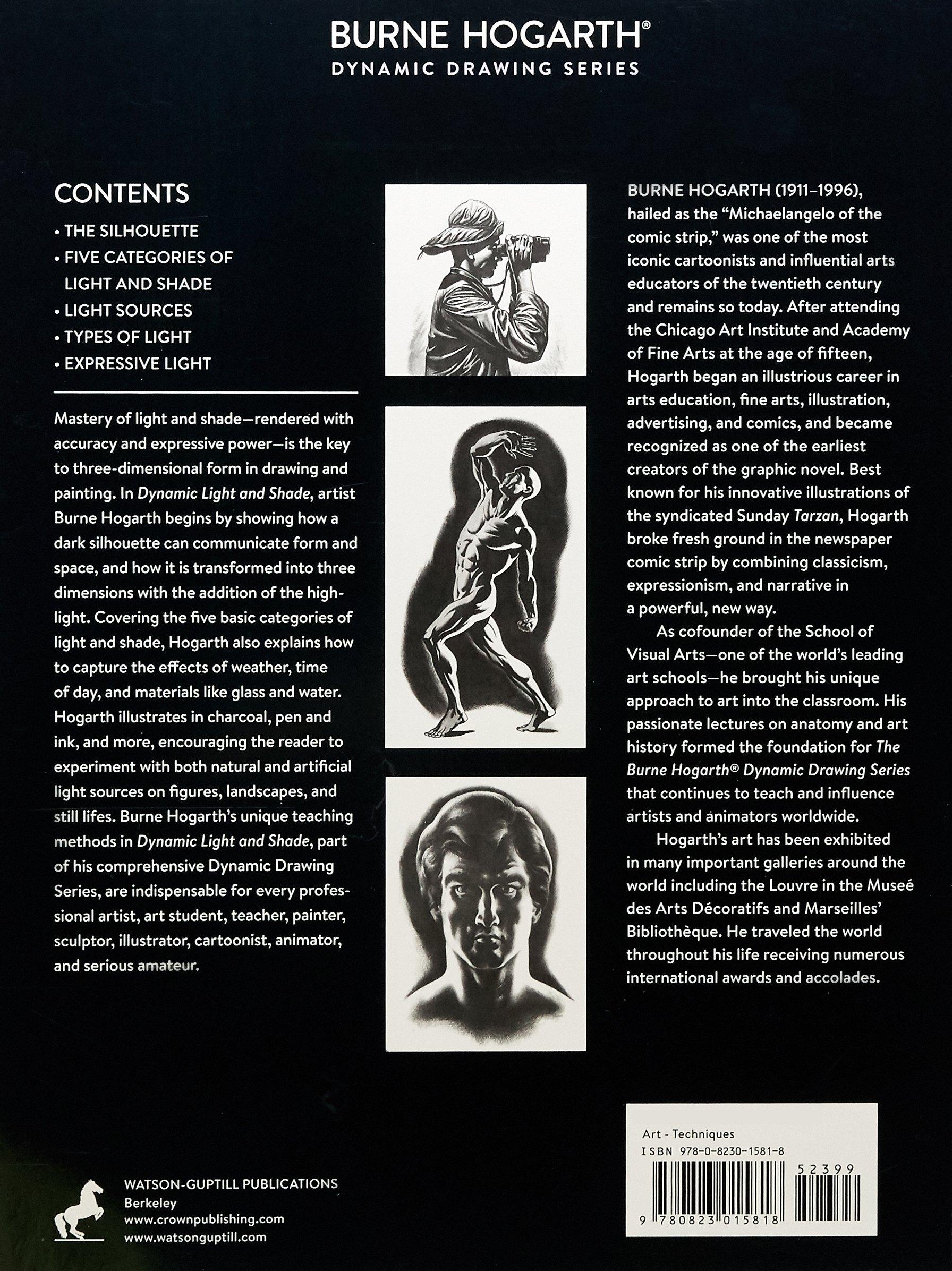 Dynamic Light And Shade Burne Hogarth 9780823015818 Amazon Books