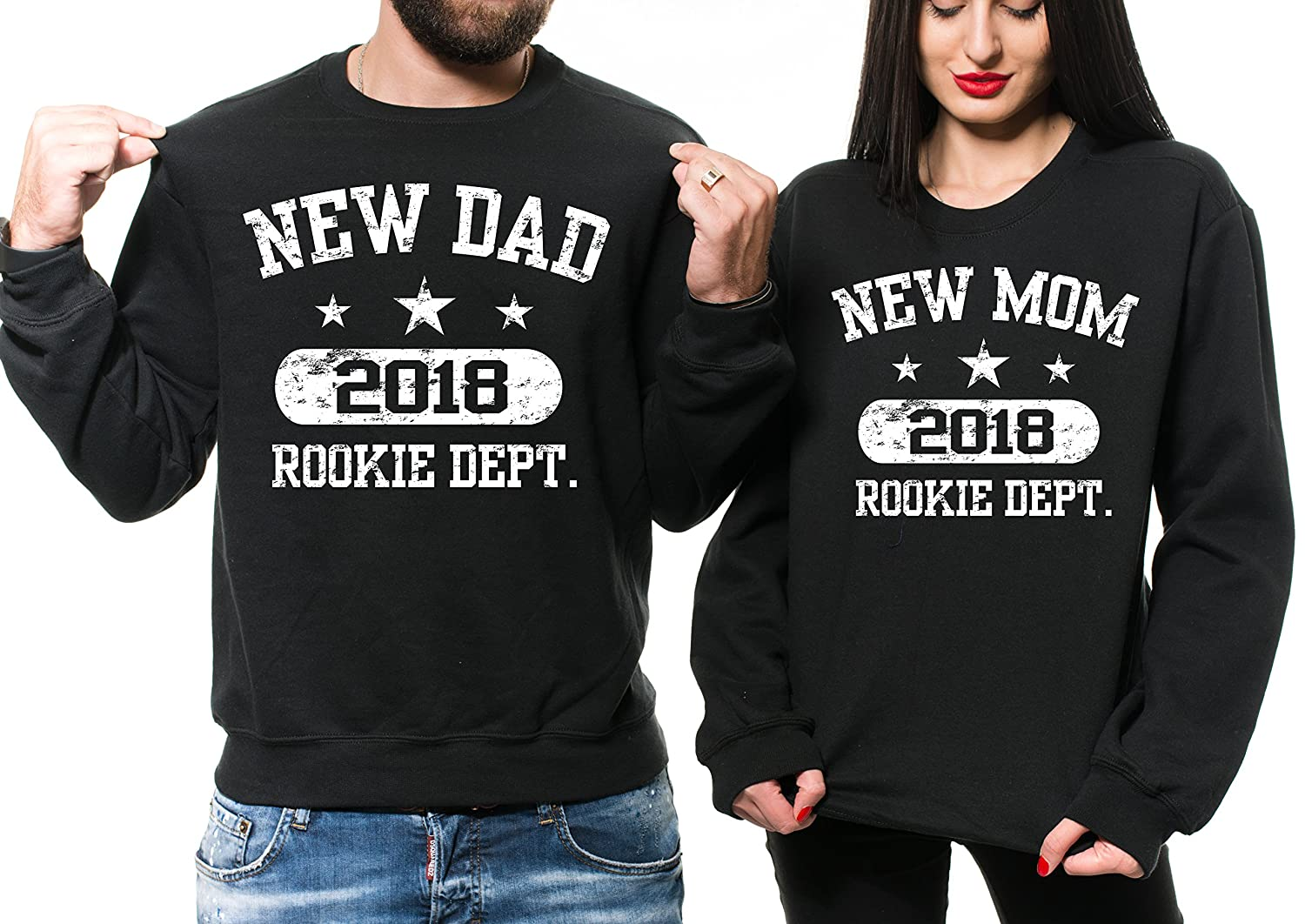 Silk Road Tees Männer New Mom New Dad 2018 Baby-Annoucet New Baby ...