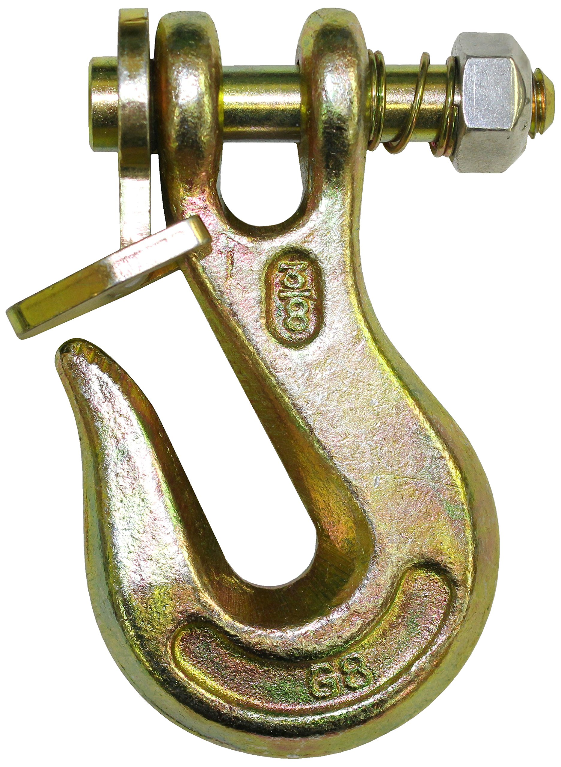 B/A Products G8-200-516 Twist Lock Grab Hook, Patented, 4'' Length, 4500 lb. Working Load Limit
