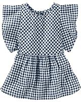OshKosh B'gosh Girls' Woven Fashion Top 22011911, Plaid, 5T