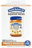 Peanut Butter & Co. Peanut Butter, Smooth Operator Squeeze Packs, 1.15 Ounce (Pack of 20)
