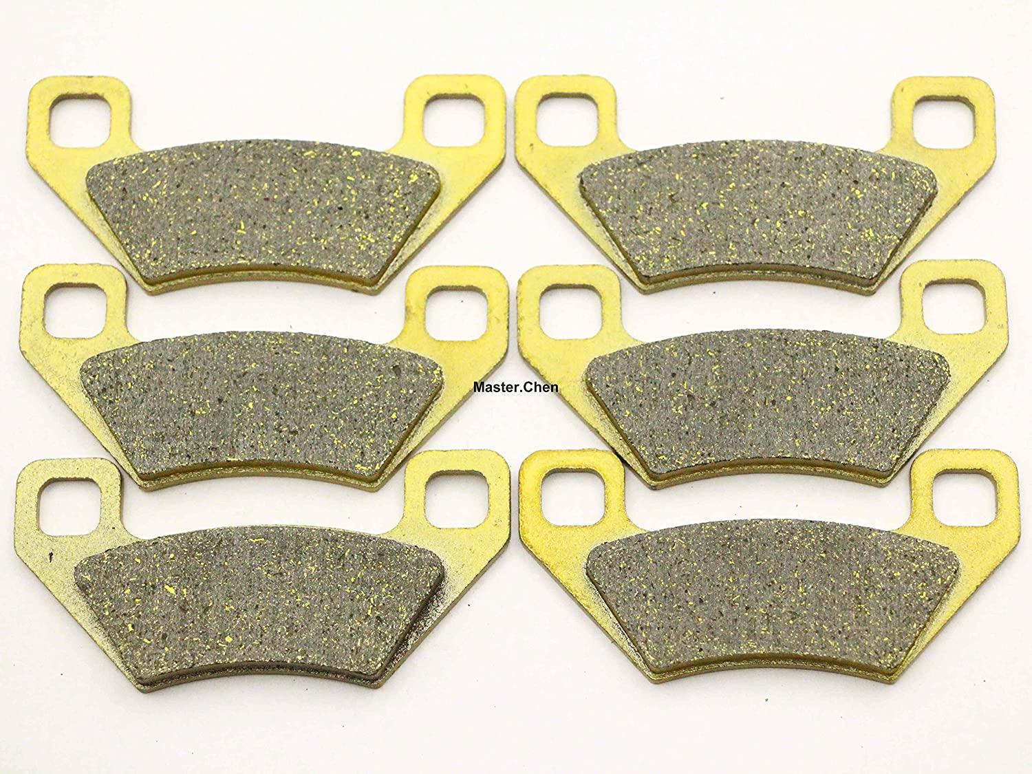 Master Chen Front Rear Brake Pads Brakes for Arctic Cat ATV 650 H1 Auto 2004-2008 Youjia Liangpin