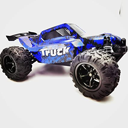 Amazon Com Funtech Rc Car 1 18 Scale Remote Control Car Off Road 4wd Monster Rc Truck Fast 30 Mph Remote Control Cars Rtr 2 4ghz Radio All Terrain Rc Cars For Beginners Toys