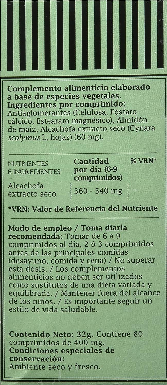 ProNutri Alcachofa - 3 Paquetes de 80 Cápsulas: Amazon.es: Salud y cuidado personal