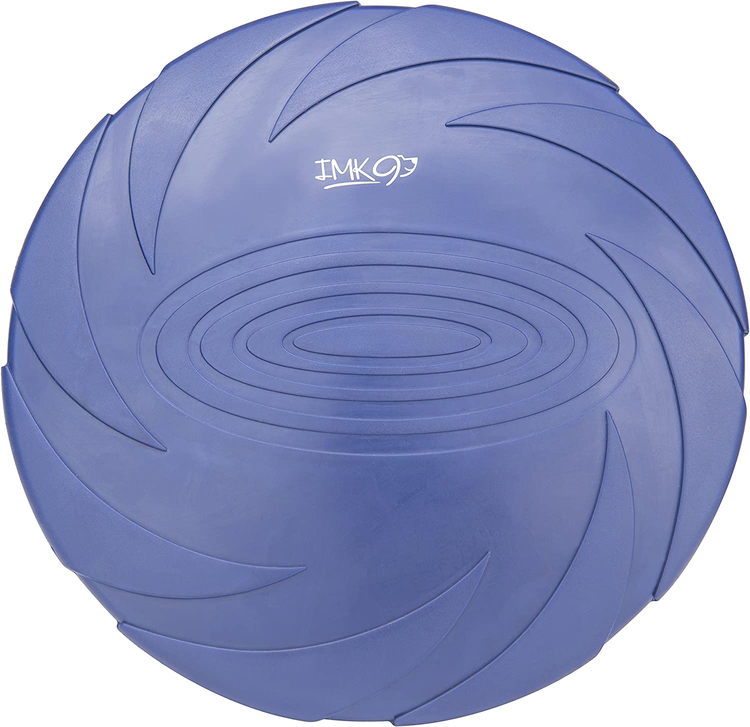Dog Frisbee Indestructible Disc - for Large Dogs - Soft Rubber Frisbees for Training – Heavy Duty Durable Freezbee for Pets – Lightweight, Interactive Flying Toy for Fetch, Tug of War, Catch