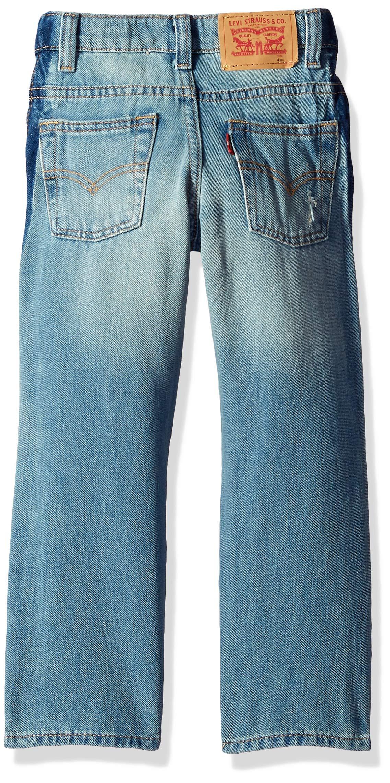 Levi's Boys' Big 511 Slim Fit Performance Jeans, Dallas Stripe, 20 by Levi's (Image #2)