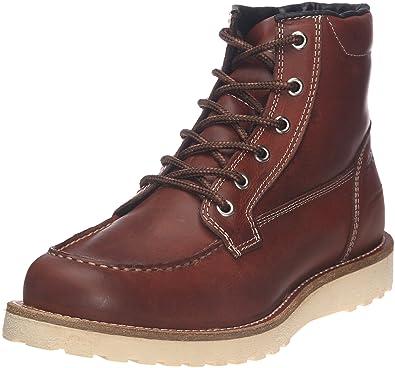 923cc6c7d52 Jack & Jones JJ Logger, Boots homme - Marron (Cognac), 45 EU: Amazon ...