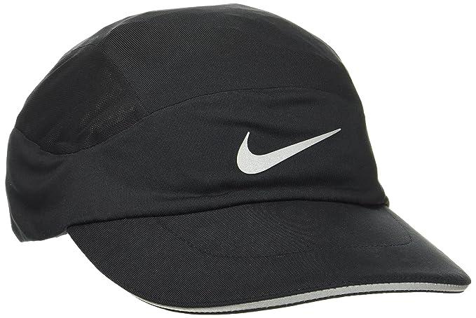 5020ffe9b1b clearance nike aerobill adjustable running hat black adult one size unisex  87dc1 020f2