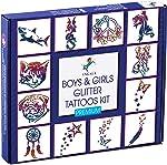 INGALA PREMIUM Glitter Tattoo Kit for Boys and Girls   Unique