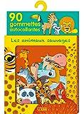 Ma boîte à gommettes - Les animaux sauvages - de 3 à 5 ans