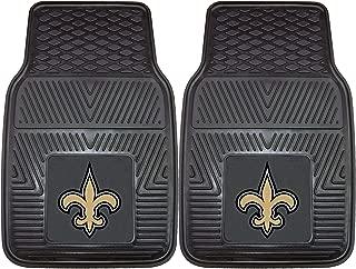 """product image for FANMATS - 8757 NFL New Orleans Saints Vinyl Heavy Duty Car Mat 18""""x27"""""""