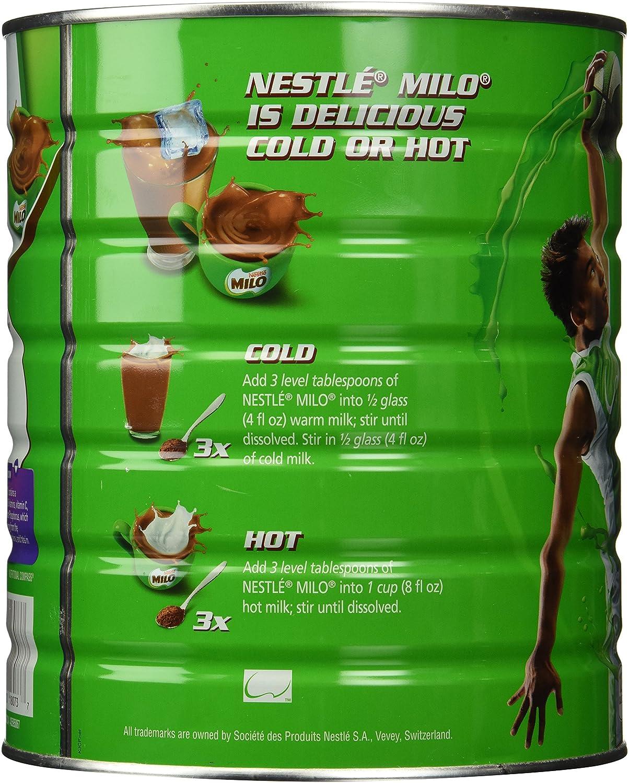 Nestle Milo Chocolate Malt Beverage Mix Jumbo 33 Pound Cube 100 Pcs Free Bubble Wrapp Can 15kg Powdered Mixes Grocery Gourmet Food