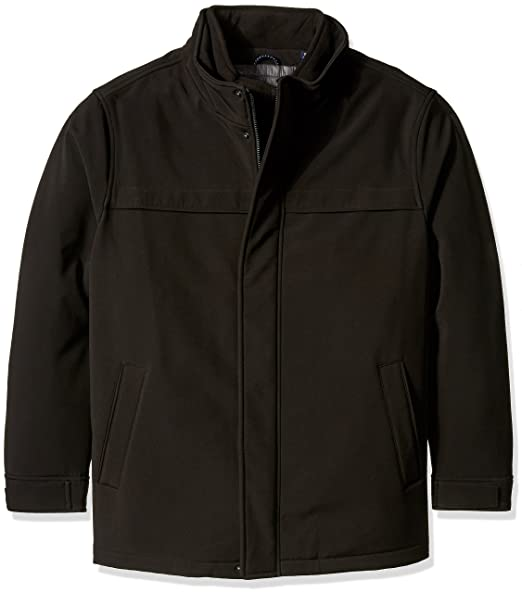 9d8d0be94d8a Dockers mens B t Soft Shell Jacket With Hood Long Sleeve Shell Jacket ...