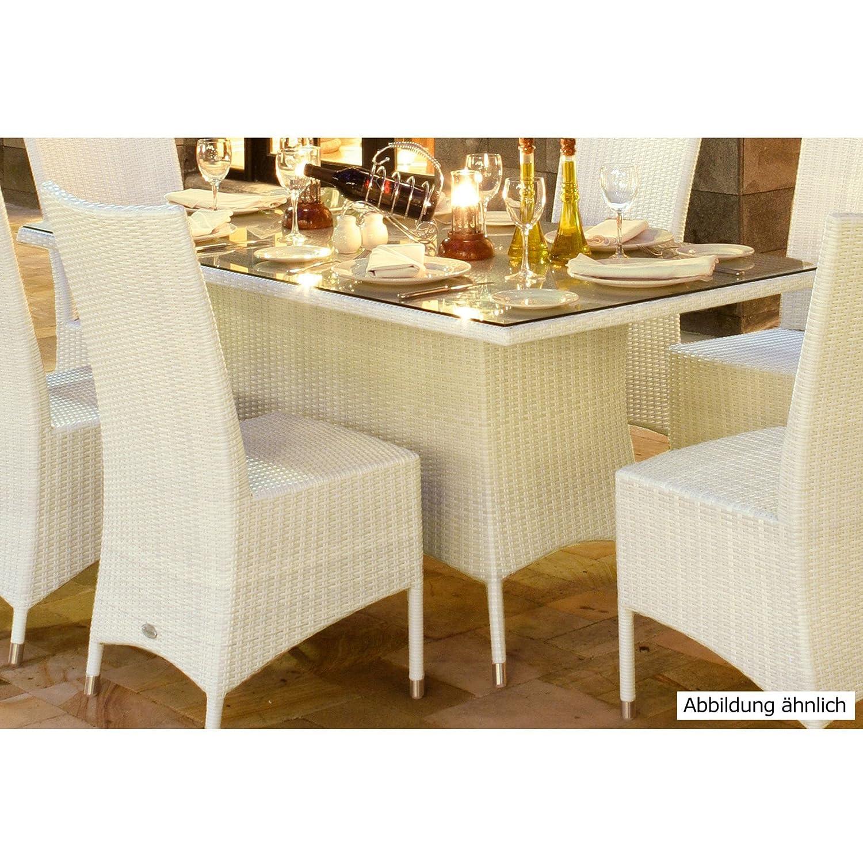 Tisch CUBA, weiß ,165x90 cm - (760194)