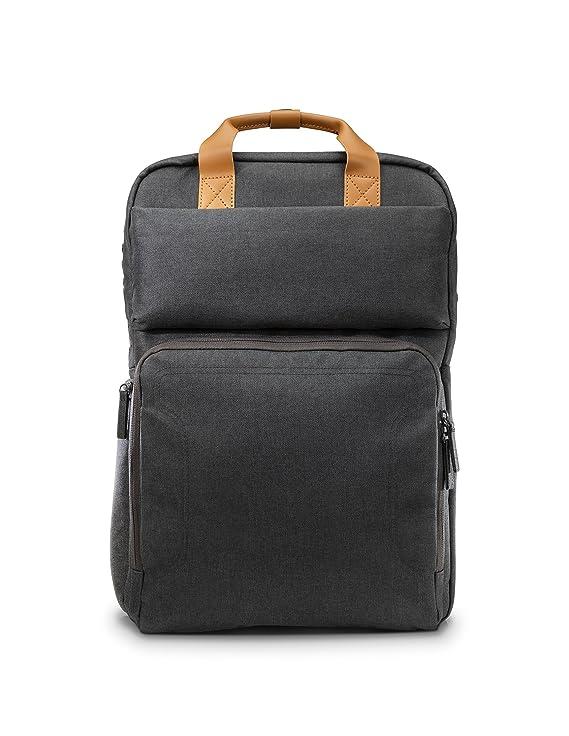 HP Powerup Backpack - Mochila con fuente de alimentación para portátiles de hasta 17.3