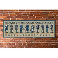 History of the American Police Officer Poster 11 3/4