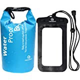 Amazon Price History for:Freegrace Waterproof Lightweight Dry Sack/Dry Bags -Fits Perfectly in Your Backpack -Keeps Gear Dry for Kayaking, Beach, Rafting, Boating, Hiking, Camping and Fishing