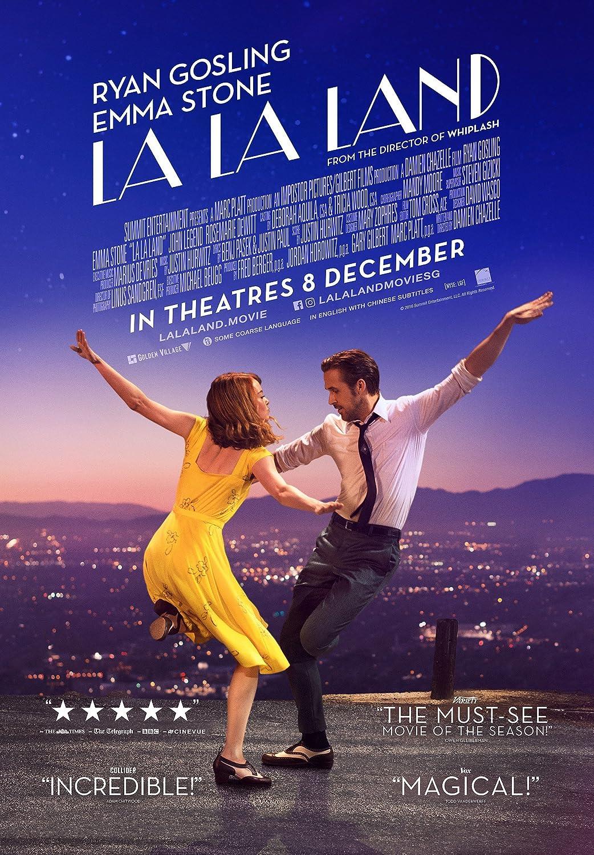 洋画で人気のおすすめミュージカル映画ランキング4位「ラ・ラ・ランド」