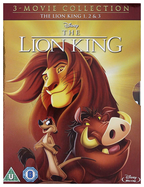 Amazon Com The Lion King 1 3 Blu Ray 1994 Region Free Matthew Broderick Jonathan Taylor Thomas Movies Tv