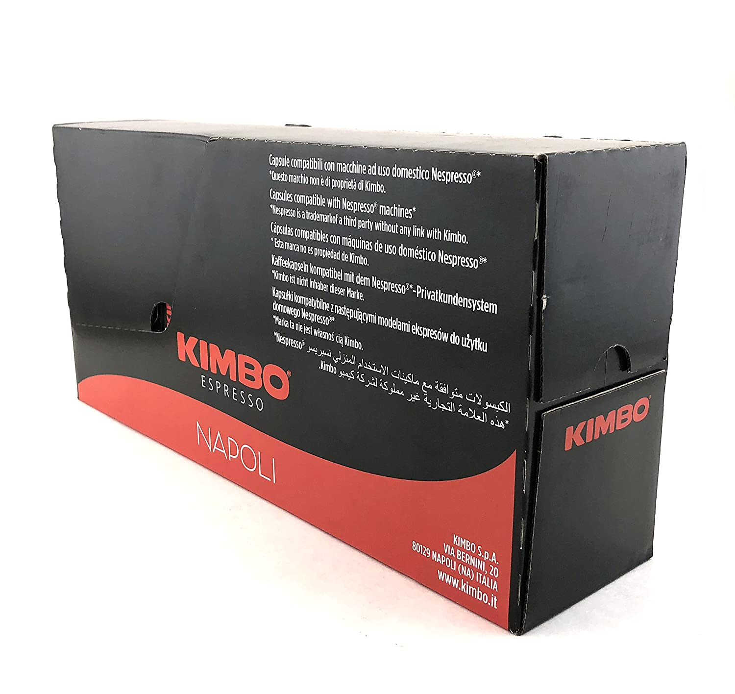 Kimbo Espresso Napoli Nespresso Capsules, 100% Arabica Coffee (Pack of 100 Capsules): Amazon.com: Grocery & Gourmet Food