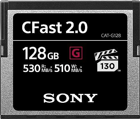 Amazon.com: Sony High Performance CFast G Series 2.0 tarjeta ...