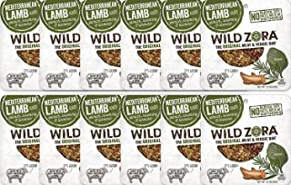 product image for Wild Zora Mediterranean All Natural Lamb & Organic Veggie Bars (12 Pack) - AIP-friendly, No Nightshades, Gluten-Free, No Antibiotics, No Added Hormones