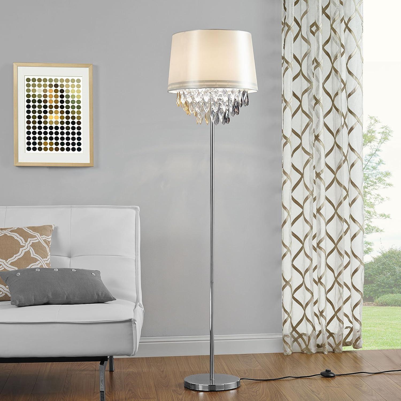 lux.pro]® Lampada da terra lampada a stelo (1 x base E27)(165xØ40 cm ...
