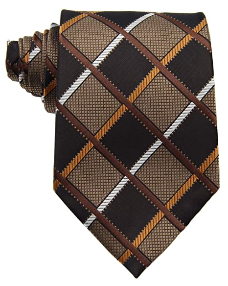 Amazon.com: Ext collectino 100% Seda Necktie, New Classic ...