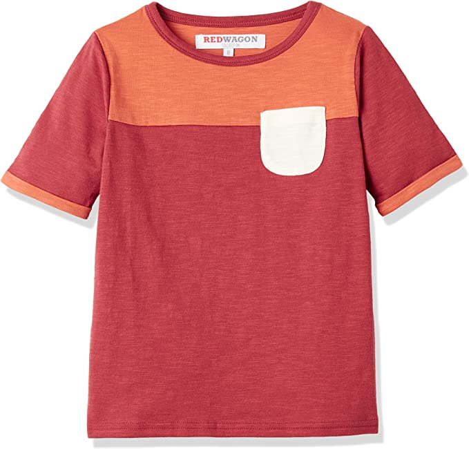 RED WAGON Camiseta con Bolsillo para Ni/ña