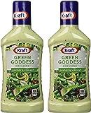 Kraft Green Goddess Dressing 16 oz. Pack of 2